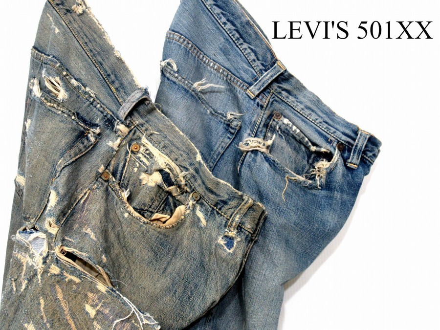 「ヴィンテージアイテムのLevi's 」