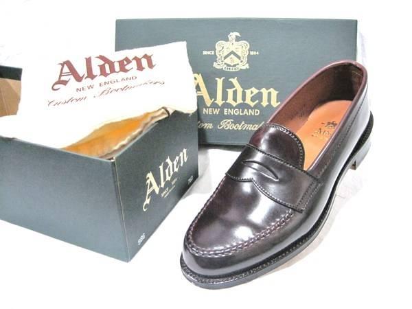 履き込むほどに味がでる!!ALDEN(オールデン)の光沢をあなたも味わってみませんか!?【TFスタイル高円寺】
