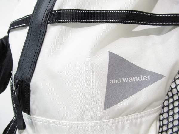 2011年スタート次世代アウトドアブランドand wander/アンドワンダー
