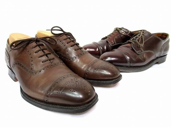 革靴へのこだわり。ALDENコードバン・CHURCH'S