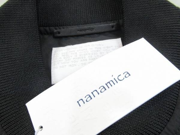 nanamicaから、この時期もさらりと羽織れる着心地抜群のブルゾン入荷です!
