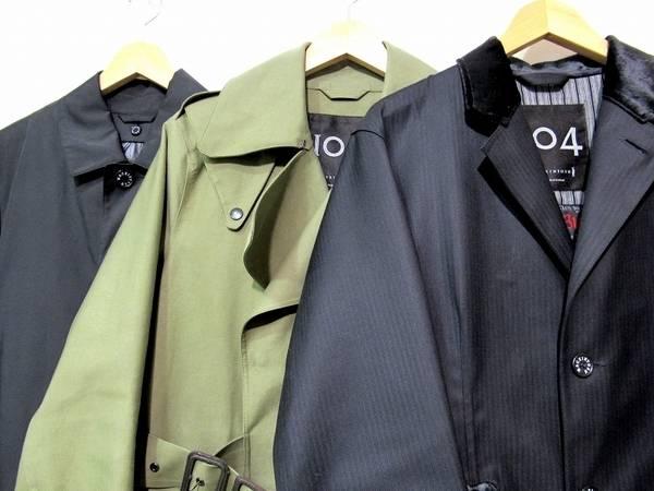 トレンドの英国スタイルにマッキントッシュのコートいかがですか??