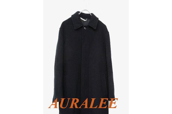 AURALEE(オーラリー)メルトンステンカラーコート買取入荷!