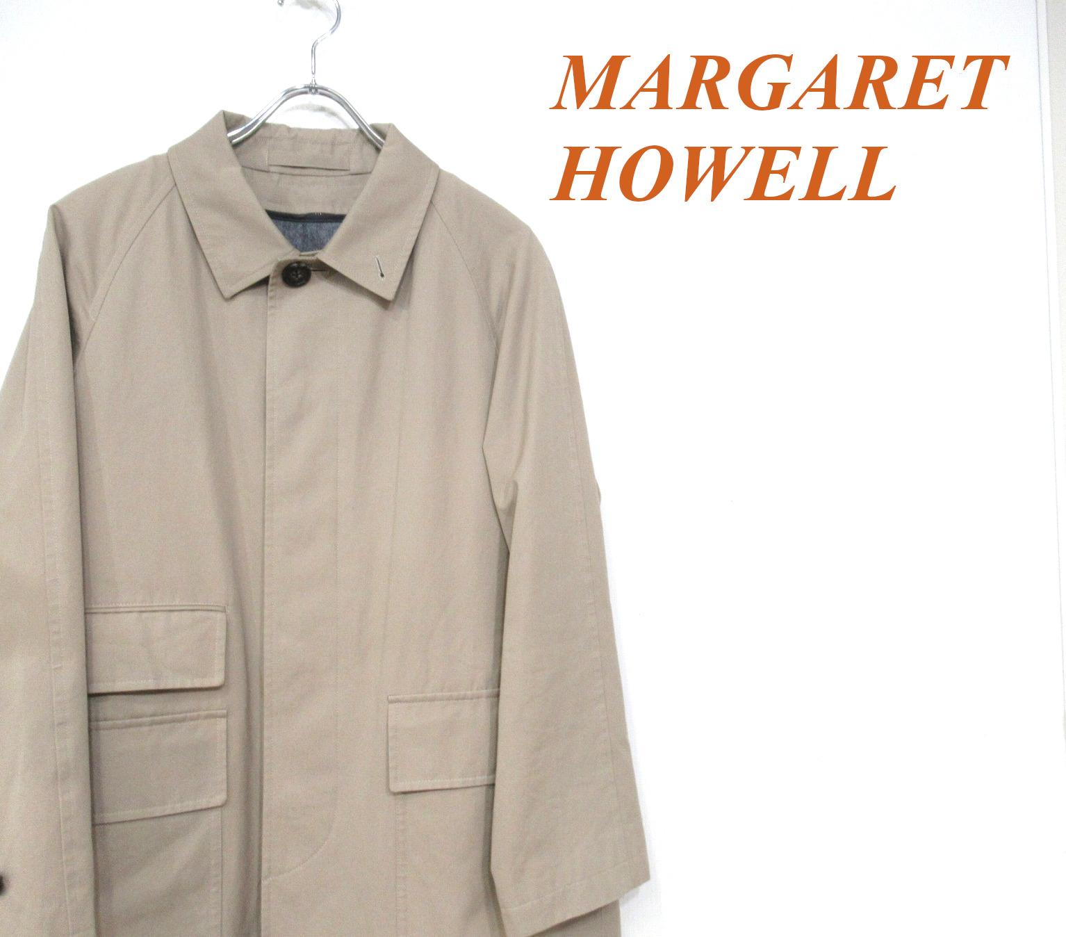 MARGARET HOWELL(マーガレットハウエル)より、オンオフ使えるステンカラーコート買取入荷!