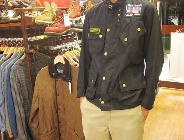 Barbour(バーブァー)のインターナショナルジャケット