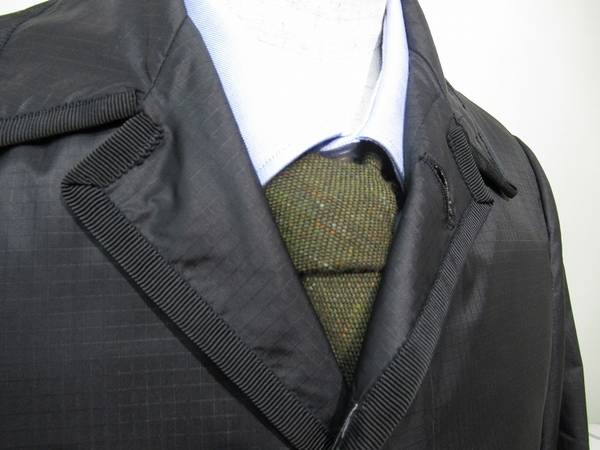 バルカラーのコート