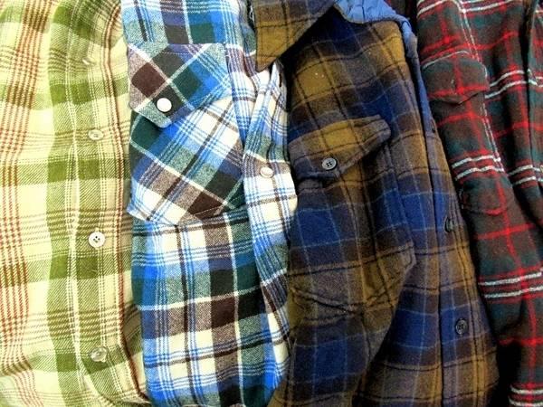ペンドルトンのネルシャツ