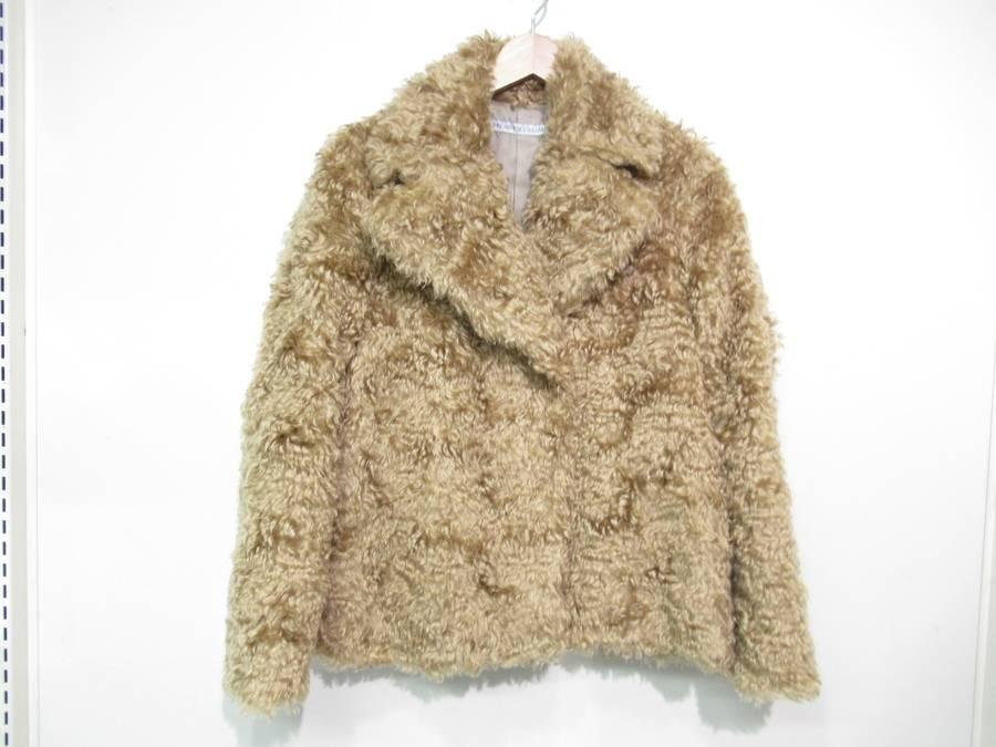ラグジュアリーブランドのモヘヤジャケット