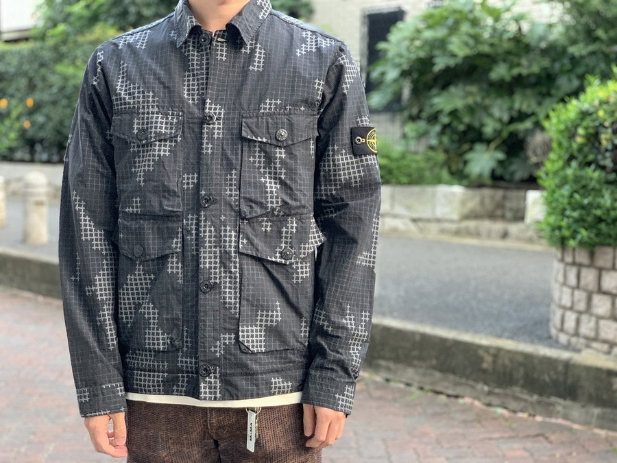 RESIN POPELIN-TC JAKET