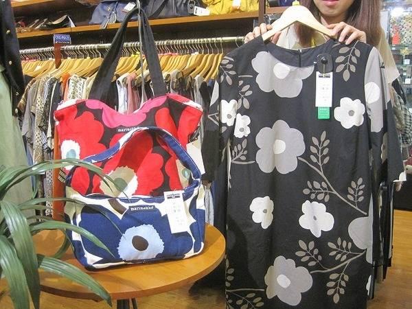 北欧ブランド♪フィンランド発のmarimekko(マリメッコ)は高円寺店の買取強化ブランドです!!