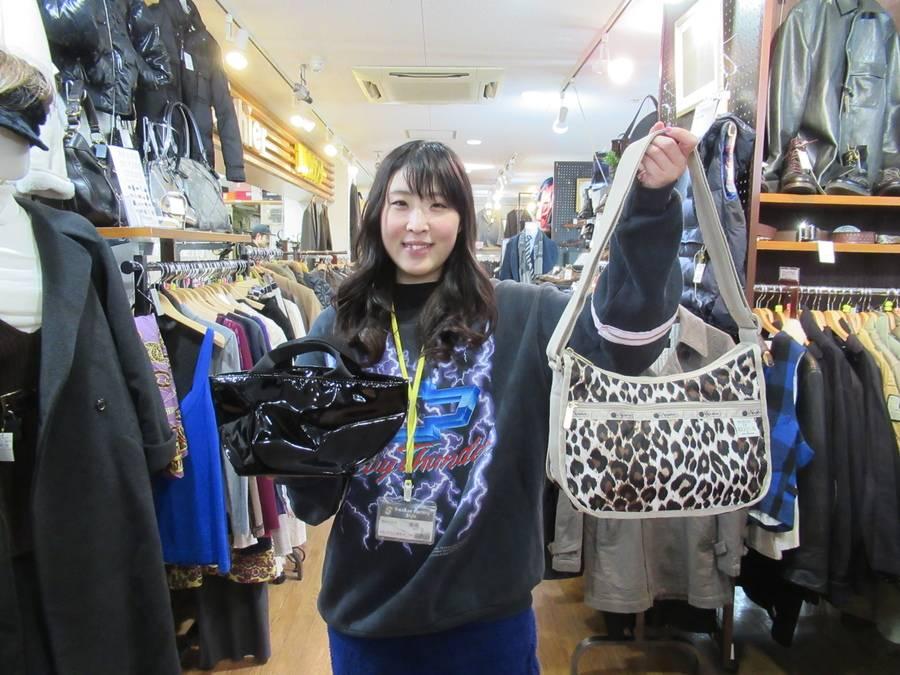 【レディース入荷速報】あのコラボ完売バッグなどが、、、【古着買取トレファクスタイル高円寺1号店】