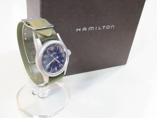 新生活、新年度に向けてHAMILTONの腕時計で心機一転してみては?【古着買取トレファクスタイル高円寺店】