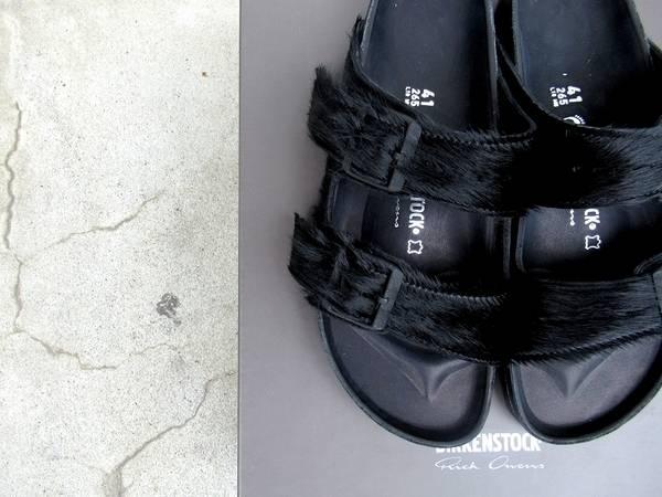 【18SS完売サイズ】RICK OWENS(リックオウエンス)×BIRKENSTOCK(ビルケンシュトック) 【古着買取トレファクスタイル高円寺1号店】