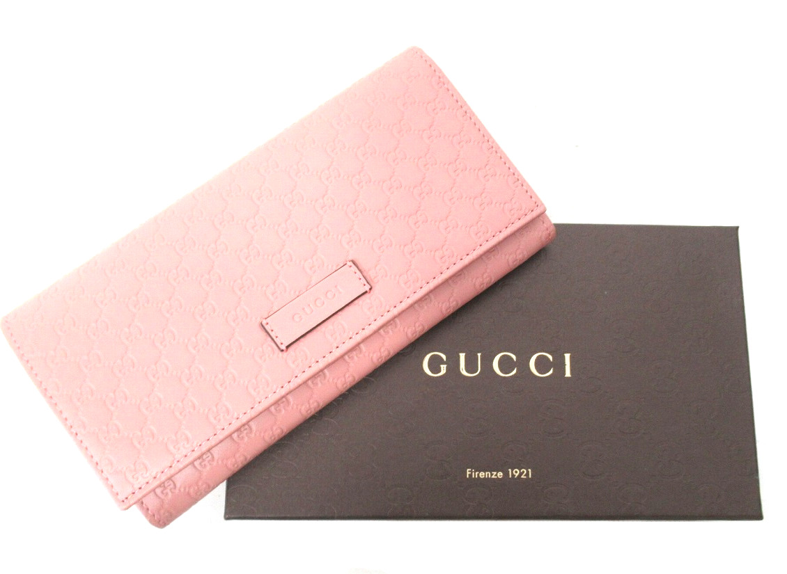 GUCCI(グッチ)より、マイクログッチシマの2つ折り財布買取入荷!