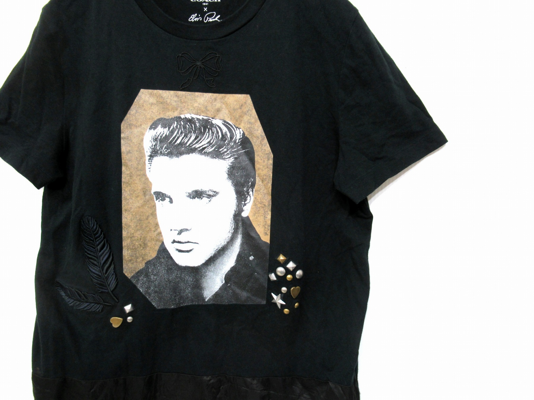 COACH(コーチ)×Elvis Presley 異色のコラボTシャツが入荷しました。