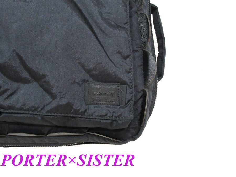 Sister(シスター)×PORTER(ポーター)3WAYバッグ買取入荷!