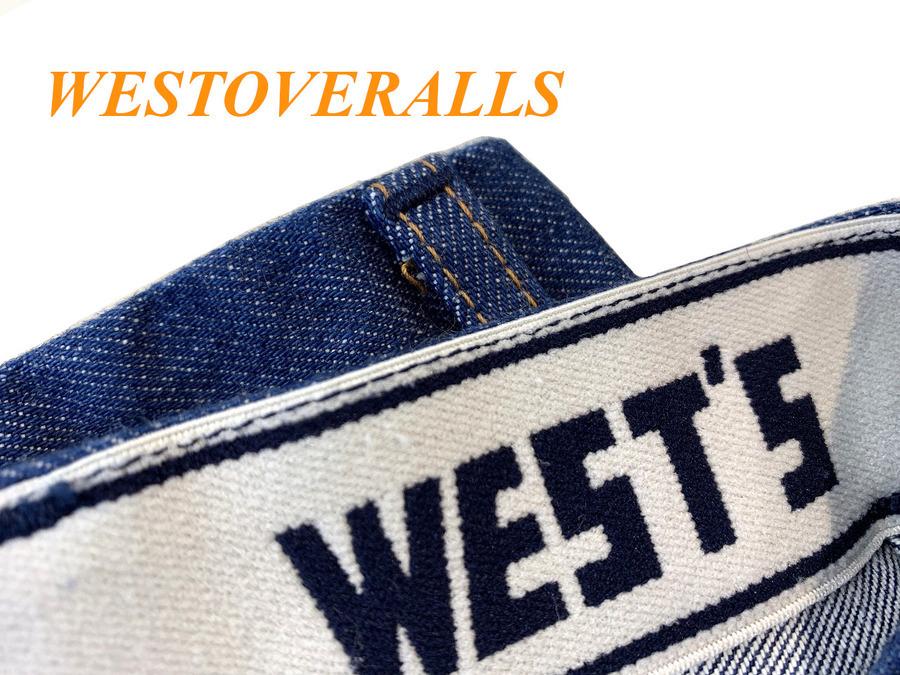 WESTOVERALLS(ウエストオーバーオールズ)ブッシュデニム買取入荷!