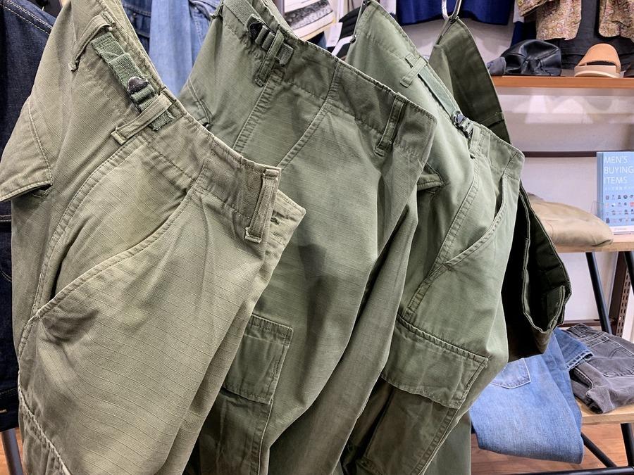 【ヴィンテージミリタリー】アメリカ軍60'Sフィールドパンツ買取入荷!