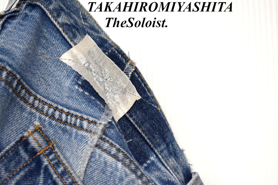 【TAKAHIROMIYASHITATHESoloist】リーバイス再構築デニム緊急入荷!【ソロイスト】