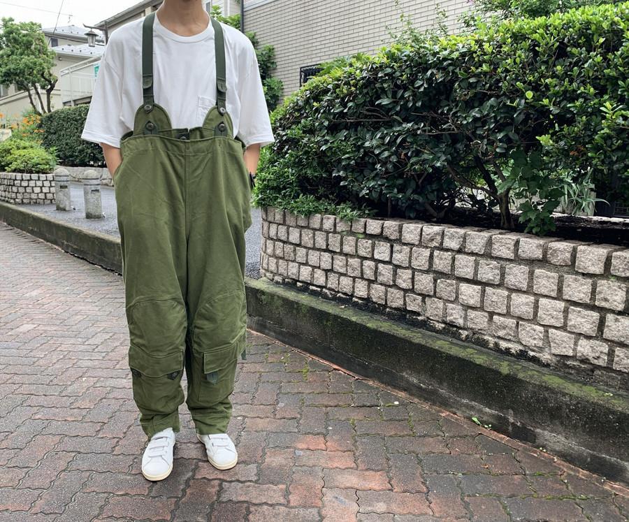 【高円寺店ヴィンテージブログ】スウェーデン軍バイカー部隊 オーバーパンツ買取入荷!