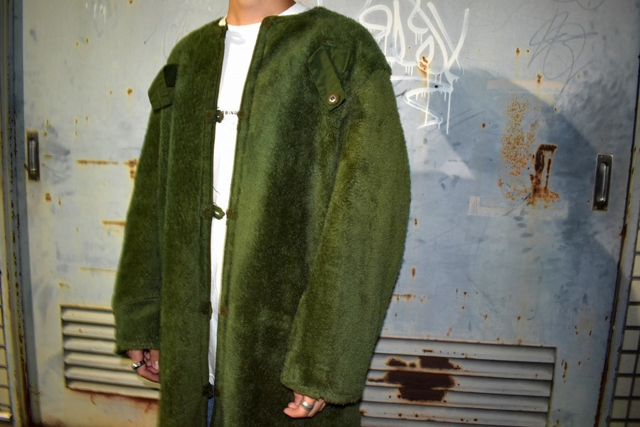 【高円寺店ヴィンテージブログ】スウェーデン軍 M-59ライナー入荷しました!!