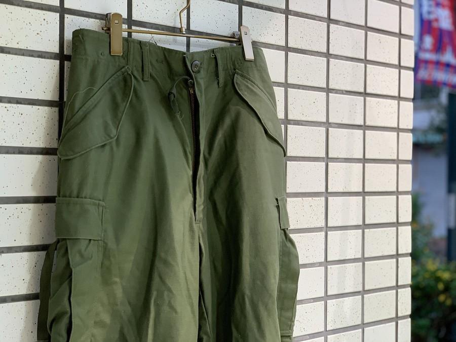 【高円寺店ヴィンテージブログ】M-65フィールドパンツ買取入荷!