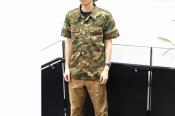 【RRL/ダブルアールエル】のキャモコットンキャンプシャツが入荷致しました!!!