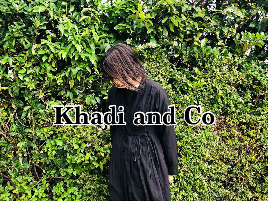 「ナチュラルブランドのkhadi and co 」
