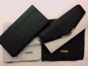 イタリアの高級ブランド《FENDI》から長財布二点紹介