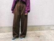 《TODAYFUL/トゥデイフル》AWカラーのパンツをピックアップしてご紹介!【新宿、渋谷、下北沢の古着買取トレファクスタイル下北沢1号店】
