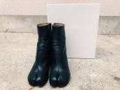 《Maison Margiela》マルジェラよりチャンキーヒールがモードな大人気の足袋ブーツが入荷。【新宿、渋谷、下北沢の古着買取トレファクスタイル下北沢1号店】
