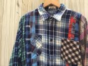【Rebuild by Needles】圧倒的デザイン性!!再構築!!デザイン性抜群のネルシャツが入荷です。【新宿、渋谷、下北沢の古着買取トレファクスタイル下北沢1号店】