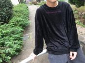 圧倒的ベロア!!SHAREEFのベロアカットソーのご紹介です!!【新宿、渋谷、下北沢の古着買取トレファクスタイル下北沢1号店】
