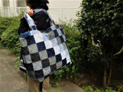 【A.P.C/アーペーセー】つぎはぎした大容量バッグの入荷!!【新宿、渋谷、下北沢の古着買取トレファクスタイル下北沢1号店】