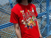 【SUPER MARIO/スーパーマリオ】インパクト大のキャラTのご紹介です。
