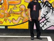 【THE BLACK EYE PATCH / ブラックアイパッチ】取扱注意プリントTシャツをご紹介します!