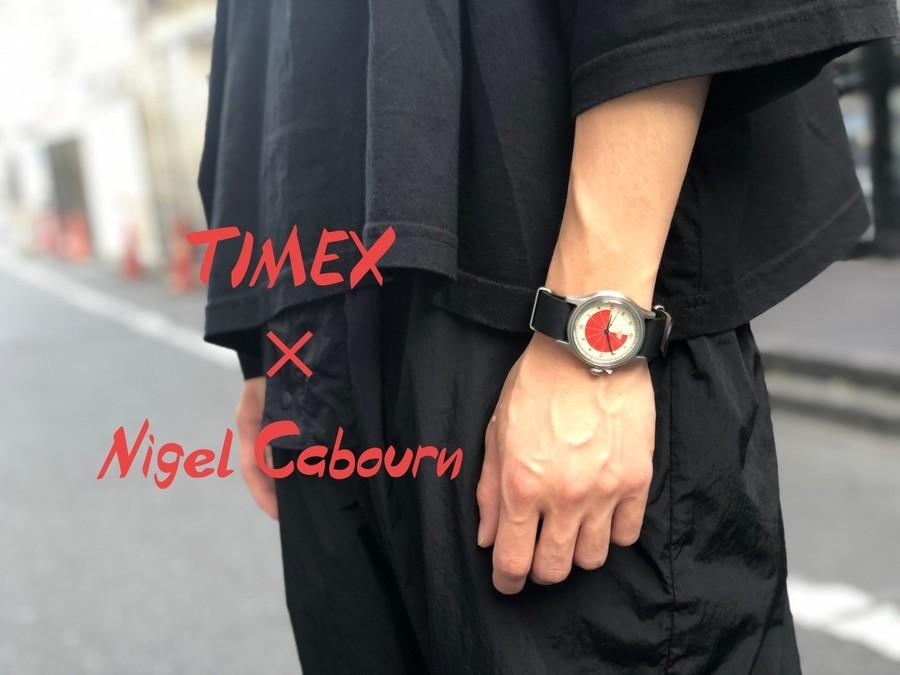 「アメカジブランドのNigel Cabourn × TIMEX 」