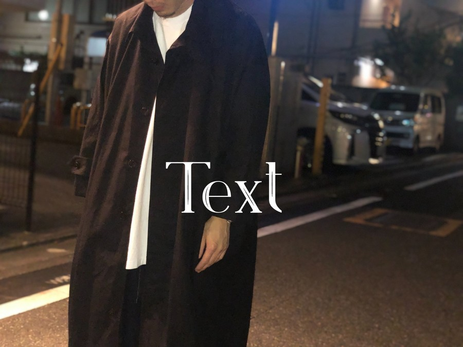 「ドメスティックブランドのText 」