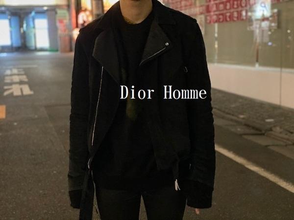 「インポートブランドのDior Homme 」