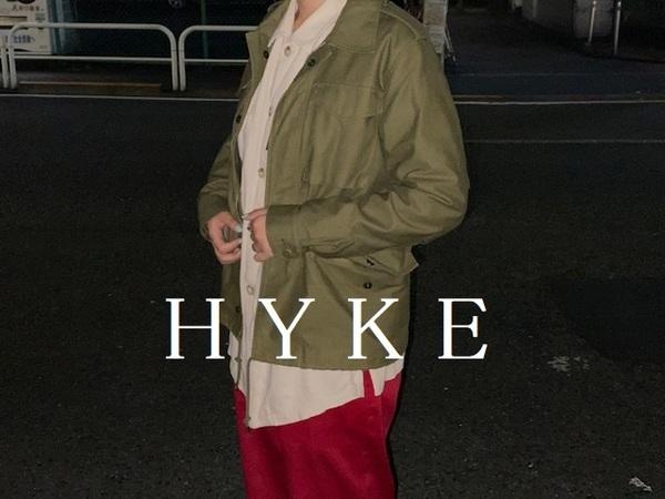 「インポートブランドのHYKE 」