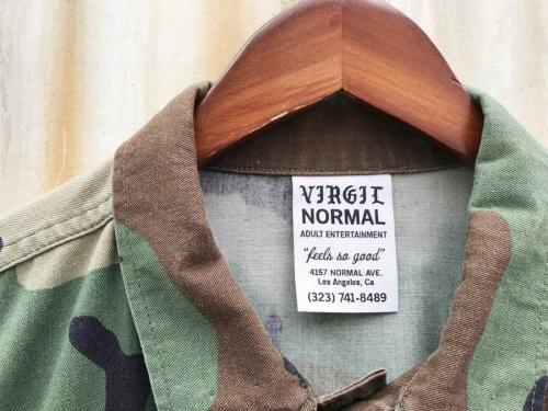 VIRGIL NORMALのミリタリージャケット
