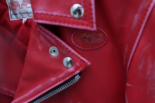 ダブルライダースジャケットのコラボ