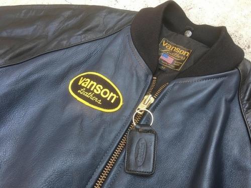 バンソンのレザージャケット