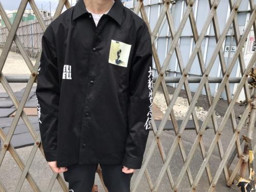 shunga coach jacketの春画コーチジャケット