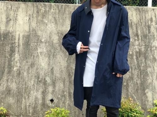 ネイムのフーデッドコート