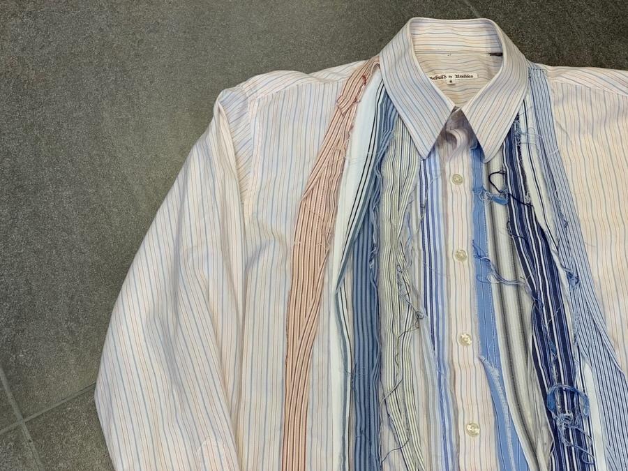 リビルド バイ ニードルスのリメイクシャツ
