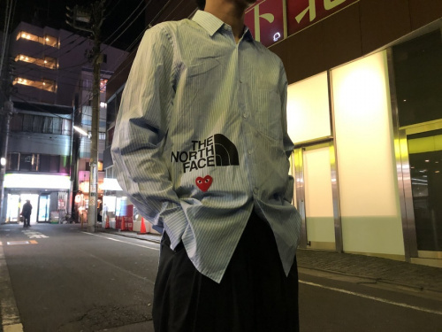 ドメスティックブランドのPLAY COMME des GARCONS×THE NORTH FACE