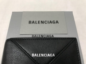 人気ブランド【BALENCIAGA/バレンシアガ】より付属品完備の折りたたみウォレット入荷!
