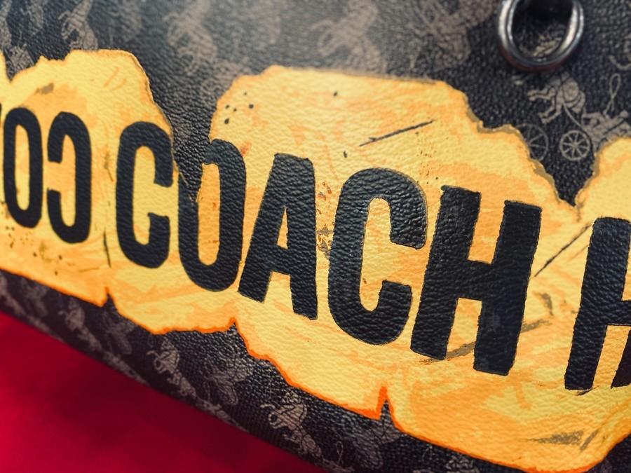 コーチのCARRYALL POUCH / クラッチバッグ