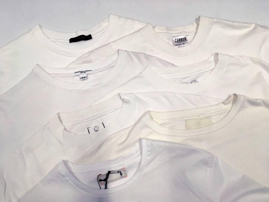 【夏だ!Tシャツだ!】白Tシャツ比較しちゃいました!【古着買取トレファクスタイル相模大野店】